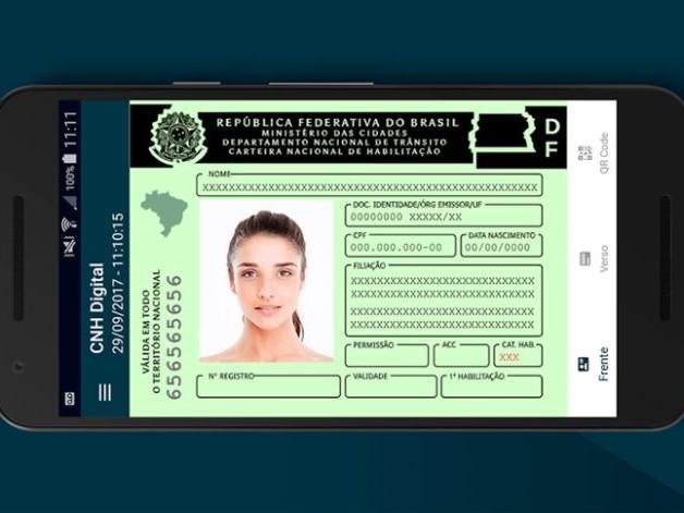 CNH digital é liberada gratuitamente em São Paulo
