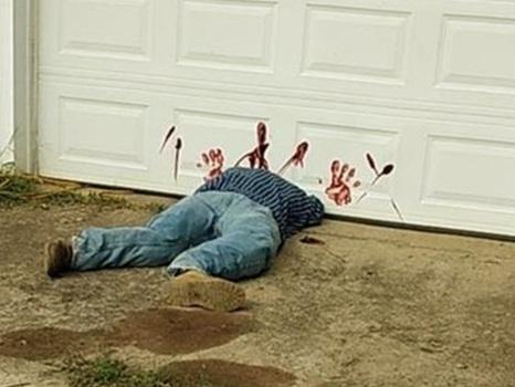 Decoração de Halloween provoca emergência policial nos EUA