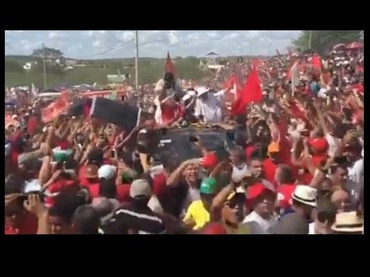 AO VIVO: Lula e Dilma inauguram transposição do São Francisco