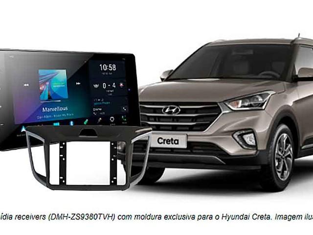 Pioneer apresenta multimídias receivers para o Hyundai Creta