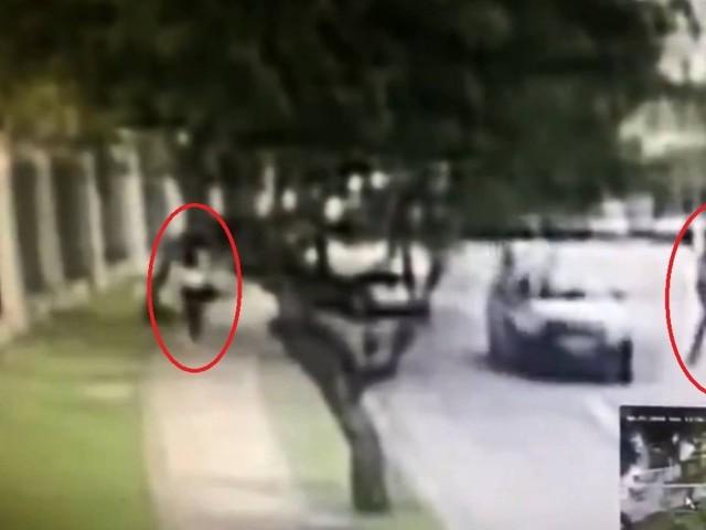 Imagens mostram momento em que moradora é morta na Barra