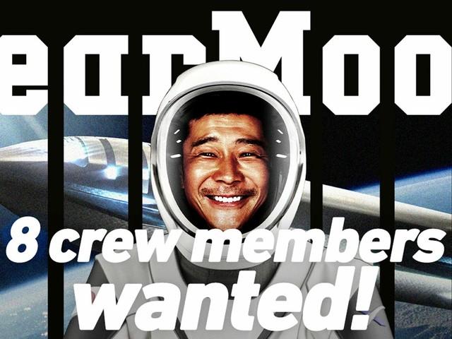 Bilionário japonês levará 8 convidados em viagem à lua de graça! Inscrições abertas!