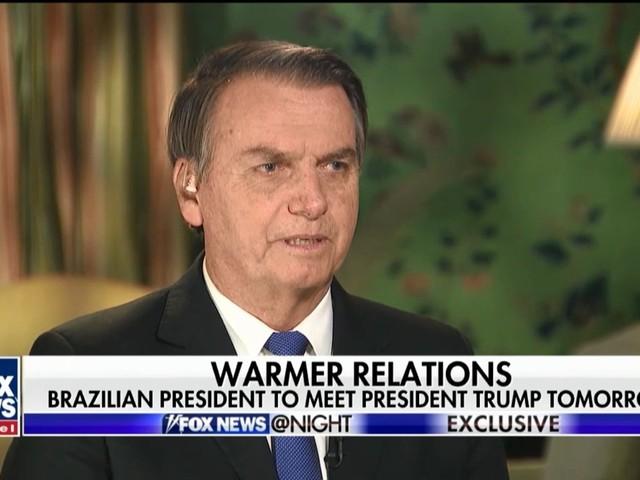 Fox News questiona Bolsonaro sobre milícias e morte de Marielle