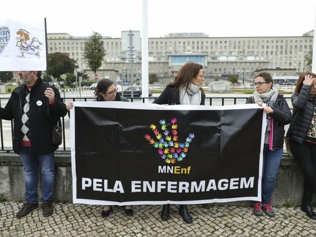 Hospitais começam hoje a marcar faltas injustificadas a enfermeiros em greve