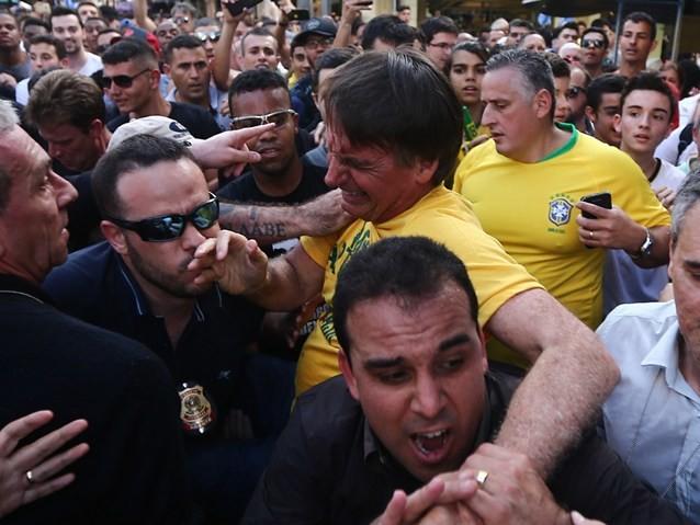 Bolsonaro está fora da campanha no 1º turno
