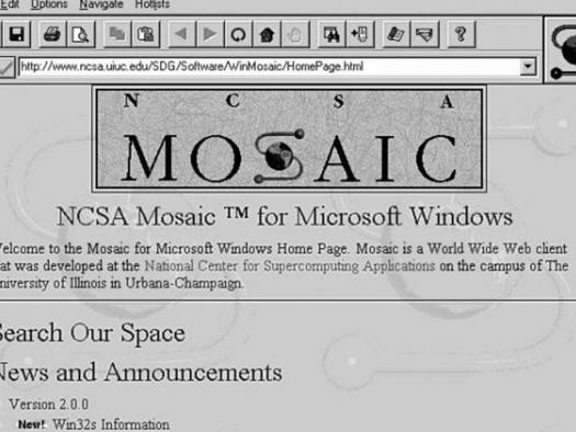 Mosaic, o navegador que revolucionou a web, completa 25 anos