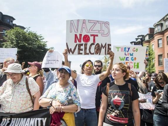 Marcha histórica contra o racismo em Boston manda recado para supremacistas