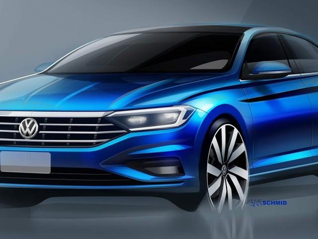 Novo VW Jetta 2019: imagens internas e externas reveladas