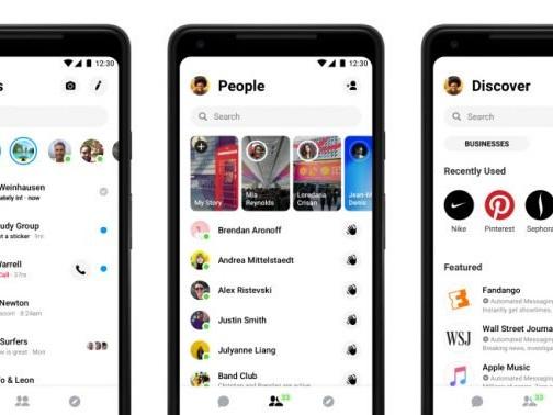 Facebook Messenger libera novo design para mais usuários