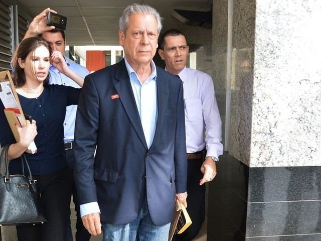 Lava Jato: TRF aumenta pena de José Dirceu em 10 anos