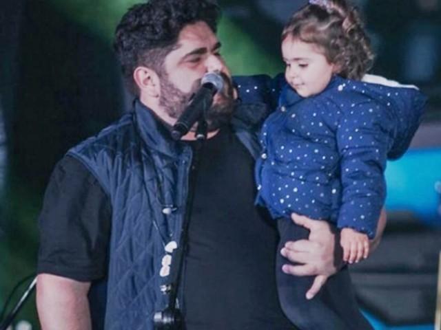 Sertanejo Cesar Menotti, da dupla com Fabiano, celebra aniversário da filha Maitê