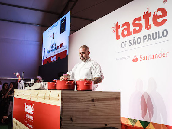 Taste of São Paulo oferece aulas de gastronomia