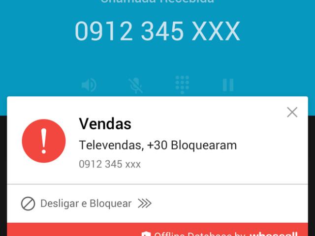 Whoscall é um app gratuito que identifica e bloqueia ligações indesejadas no seu celular