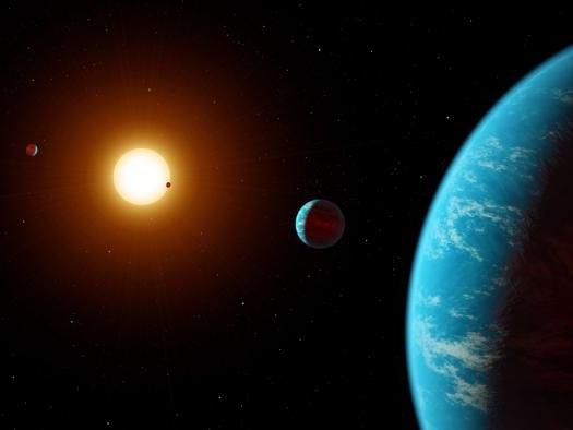 Astrônomos amadores descobrem sistema estelar com cinco planetas rochosos