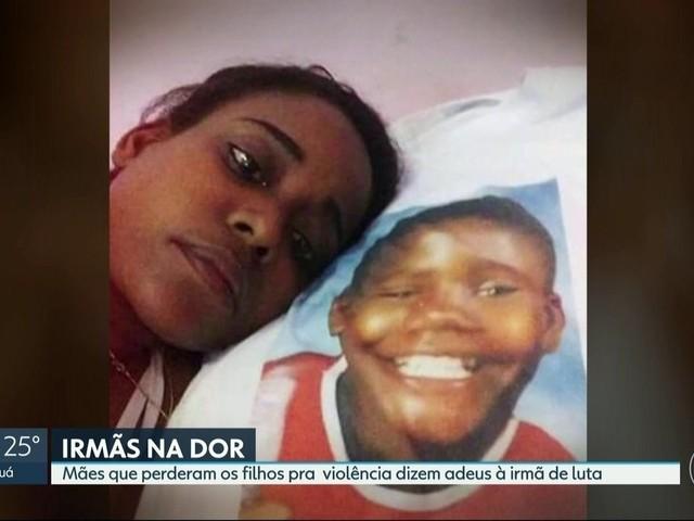 Mãe que perdeu filho baleado por PM morre após sofrer com depressão por 3 anos e sem ver fim da investigação