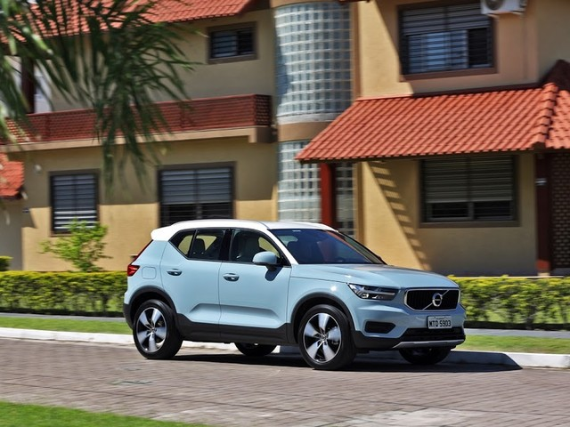 Volvo XC40 ganha 5 estrelas no Euro NCAP