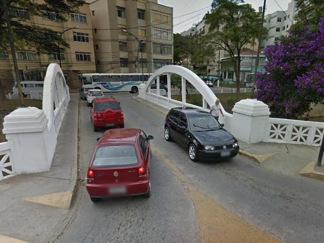 Ponte Branca, em Nova Friburgo, RJ, terá uma faixa interditada por 90 dias