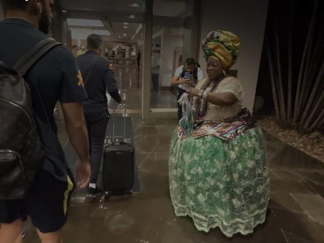 Viaje com a Seleção Brasileira de São Paulo para Salvador