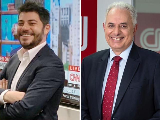 Evaristo Costa e William Waack, que eram da Globo, têm salários divulgados em novo canal