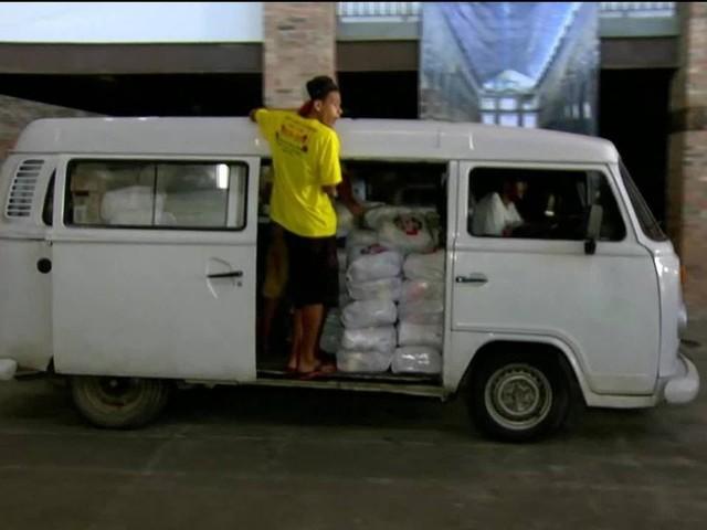 Campanha Natal Sem Fome distribui 200 toneladas de alimentos no Rio neste sábado