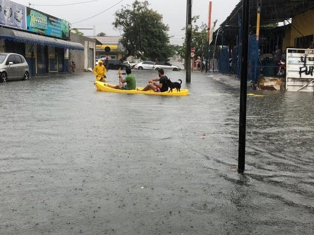 Chove em 24 horas 100% do esperado para o mês de fevereiro, em João Pessoa, diz Defesa Civil