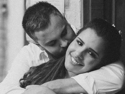 Ex-noivo de Alinne Araújo surge aos prantos e revela motivo para ter desistido do casamento