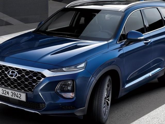 Novo Hyundai Santa Fe 2019: fotos adicionais reveladas