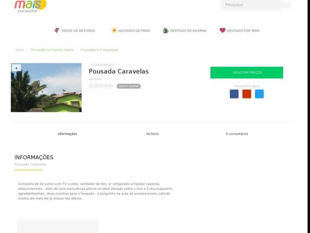 Pousada Caravelas - Guarapari - ES