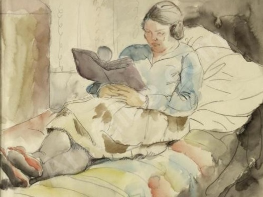 Imagem de leitura — Charlotte Berend-Corinth
