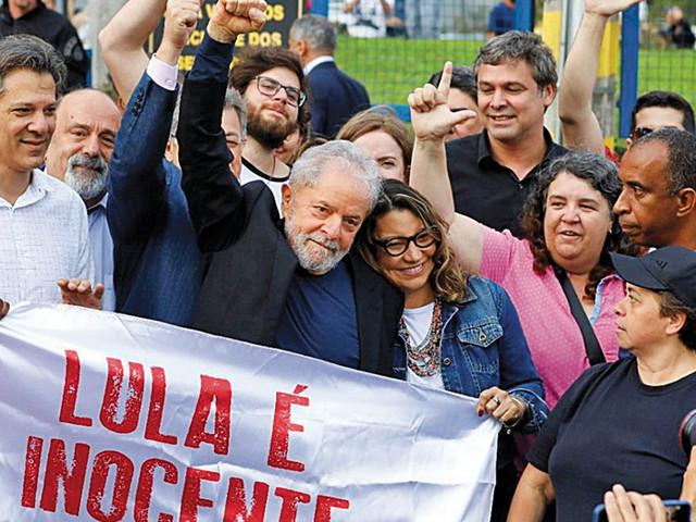 "Lula da Silva. ""A faúlha que pode incendiar a pradaria"""
