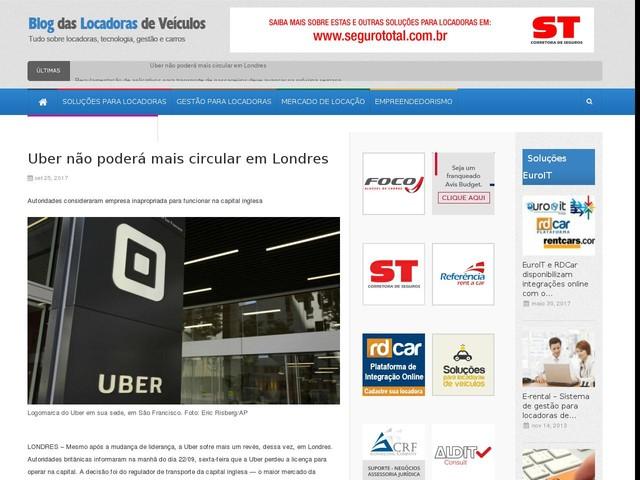 Uber não poderá mais circular em Londres