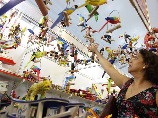 Casa das Artes realiza feira de artesanato em Belém