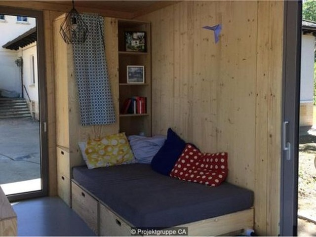 Os estudantes que constroem seus dormitórios por causa dos aluguéis estratosféricos na Alemanha