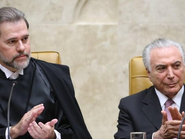 Toffoli assume a presidência no lugar de Temer