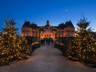 5% de desconto na visita de Natal a Vaux le Vicomte