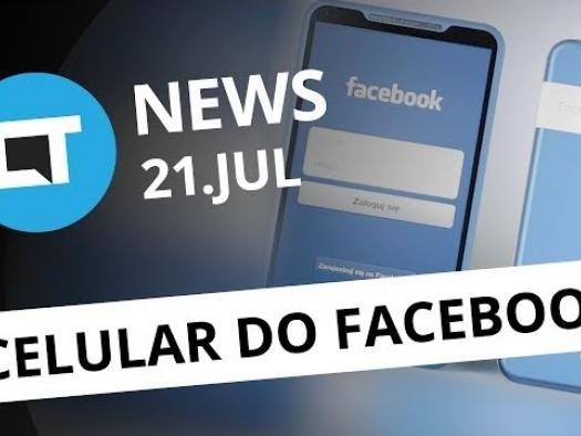 Facebook pode lançar smartphone; Boné da Atari e + [CT News]
