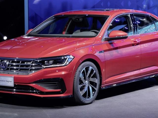 Novo Volkswagen Sagitar 2020 é apresentado na China