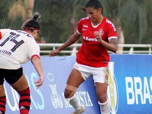Inter joga contra o Flamengo pelas quartas de final do Brasileirão Feminino