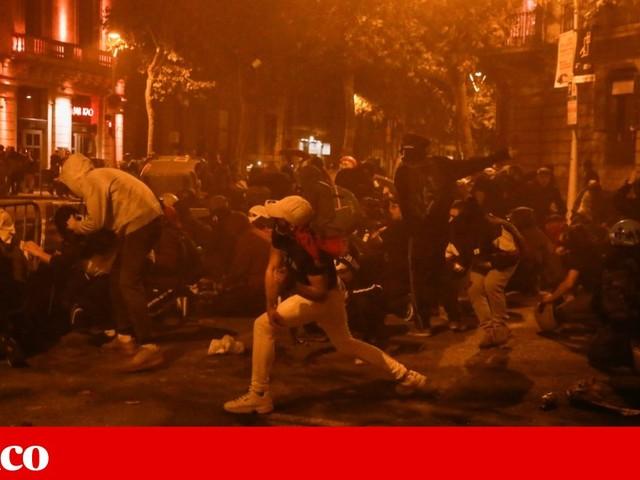 Catalunha: nove feridos em confrontos entre independentistas e extrema-direita
