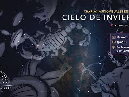 El cielo de invierno en el Planetario