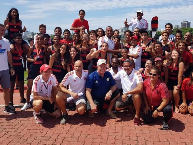 Flamengo larga na frente no Estadual de Remo