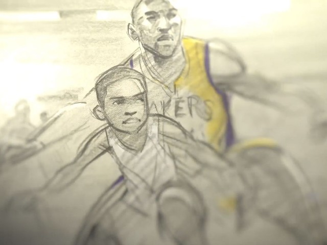 Produtora de Kobe Bryant publica curta ganhador do Oscar, 'Dear Basketball', na internet; ASSISTA