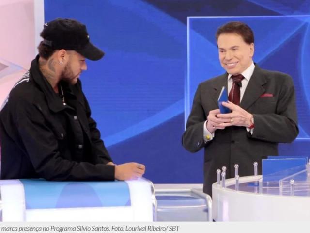 Silvio Santos expõe beijo de Anitta e Neymar e constrange jogador em rede nacional