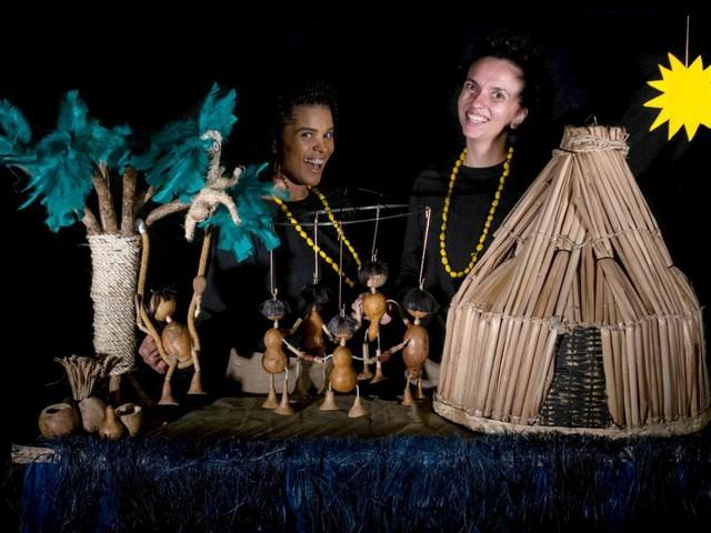 Teatro itinerante apresenta sete sessões da peça 'Curumim' em Santa Cruz do Rio Pardo