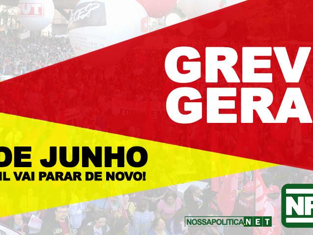 Em Sergipe, mais de 50 sindicatos aderiram à Greve Geral