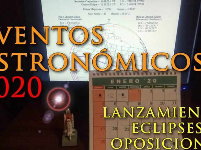 Eventos astronómicos 2020