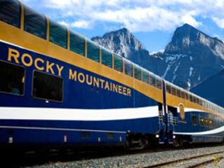 O Trem Transparente – Rocky Mountaineer Canadá