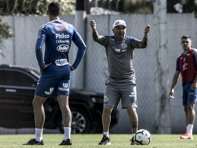 Confira fotos do treino do Santos desta sexta-feira