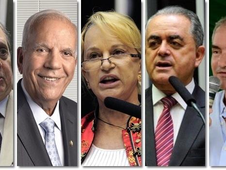 Os 20 parlamentares mais ricos do Congresso Nacional