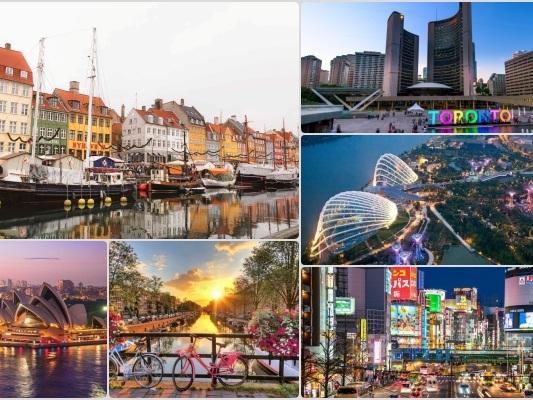 As 10 cidades mais seguras do mundo em 2021